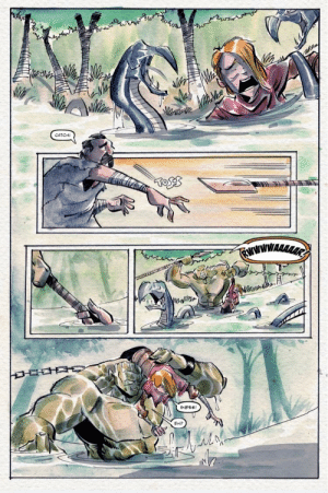 As requested from u/DukeofGeek here is a page out of OGRE, my new fantasy graphic novel [OC] art by Shawn Daley: CATCH!  EHP As requested from u/DukeofGeek here is a page out of OGRE, my new fantasy graphic novel [OC] art by Shawn Daley
