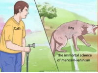 Science: Cath  Roy  The immortal science  of marxism-leninism