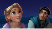 Disney, Gif, and Girls: catholicamputee:  everythingelsegoesherethen:  nerdfighter13812:  itsxandy:  disneymoviesandfacts:  According to the animators for Flynn, he's meant to be 26 years old, thus making him 8 years older than Rapunzel, who is 18 in the film - the largest age gap between any other Disney couple.   Kida's 8,800-ish with Milo's 32, that's… an 8,768 year age gap?  Can we just appreciate that Milo's reaction is basically how tumblr girls feel about the men they stalk?  I CAN'T EVEN DENY IT OH MY GOD  Yeah, and at least Rapunzel is 18, as opposed to 13 or 14…