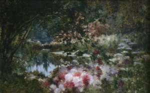 catonhottinroof:    Adolphe-Louis Castex-Degrange (1840 - 1918)  Water Lilies on Lake : catonhottinroof:    Adolphe-Louis Castex-Degrange (1840 - 1918)  Water Lilies on Lake