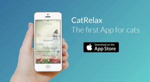 """meme-mage:  CatRelax (A musical atmosphere for relaxation or stimulation of your cat.)Calm down or stimulate your cat with the most unique application of its kind!The principle is simple:-Select a category-Select the duration of the session-Place the sound source in the same room as your cat and let the magic happen!The  Cat Relax application is based on the results of a study by Charles  Snowdon at the University of Wisconsin. It shows that our feline friends  """"have shown significantly more positive responses towards the music  designed for them than towards the music made for man.""""Website: http://www.catrelax-theapp.com/index-en.htmlVideo : https://vimeo.com/132924471Facebook: https://www.facebook.com/CatRelaxForIos: CatRelax  Free  13:07  CatRelax  The first App for cats  Appease  Download on the  App Store  Reassure  Stimulate meme-mage:  CatRelax (A musical atmosphere for relaxation or stimulation of your cat.)Calm down or stimulate your cat with the most unique application of its kind!The principle is simple:-Select a category-Select the duration of the session-Place the sound source in the same room as your cat and let the magic happen!The  Cat Relax application is based on the results of a study by Charles  Snowdon at the University of Wisconsin. It shows that our feline friends  """"have shown significantly more positive responses towards the music  designed for them than towards the music made for man.""""Website: http://www.catrelax-theapp.com/index-en.htmlVideo : https://vimeo.com/132924471Facebook: https://www.facebook.com/CatRelaxForIos"""