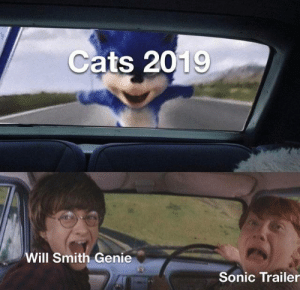 Smith Genie: Cats 2019  Will Smith Genie  Sonic Trailer