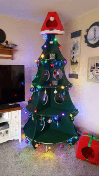 Cats, Christmas, and Christmas Tree: CATS  Ar A Christmas tree for when you have cats