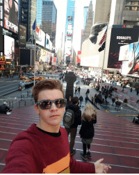 Currently in time square NYC, going to BIG APPLE CON all day saturday! See you there?: CATS  OTT  MARQUIS  EQUALITY Currently in time square NYC, going to BIG APPLE CON all day saturday! See you there?