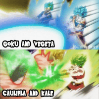 """Anime, Dragonball, and Goku: CAULIFLA AND KAL DRAGON BALL SUPER EPISODE 101 LINK IN MY BIO WATCH IT! I really enjoyed the episode! ~ dragonballsuper dbz dbz dbs dragonballz dragonball goku vegeta kale caulifla anime - """"Intelligence is the ability to adapt to change."""" - Stephan Hawking"""