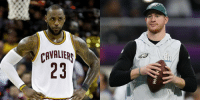 .@cj_wentz recruiting LeBron James to Philly? https://t.co/gu4CQYeQPy https://t.co/WJAzlFc7ie: CAVALIEP  23 .@cj_wentz recruiting LeBron James to Philly? https://t.co/gu4CQYeQPy https://t.co/WJAzlFc7ie