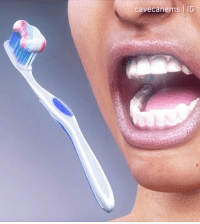 Tag your friends so they know how to brush their teeth properly. - 🎥 @cavecanems 🎵 @diegovnavarro - teeth visual 9gag: cavecanems IG Tag your friends so they know how to brush their teeth properly. - 🎥 @cavecanems 🎵 @diegovnavarro - teeth visual 9gag