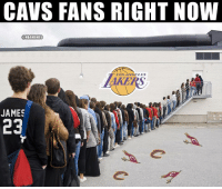 Welcome to the bandwagon! https://t.co/MrXsIcpop9: CAVS FANS RIGHT NOW  @NBAMEMES  LOSNGELES  JAMES  23 Welcome to the bandwagon! https://t.co/MrXsIcpop9