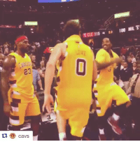 Leaving work on Friday like...: CaVS  TCLE 115 Do 100 MIL 5 Leaving work on Friday like...