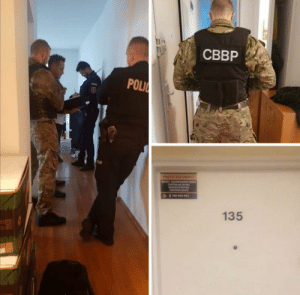 Landlords in Warsaw, Poland are using mercenaries to evict people unable to pay rent due to medical expenses: CBBP  POLIC  RAS  PROTECTED OBIECT  DarEKT DOORowANT PR  CENTRALNE BURO  BEZPIECEENSTWA  PERSONALNEGO  C 790-850-921  135 Landlords in Warsaw, Poland are using mercenaries to evict people unable to pay rent due to medical expenses