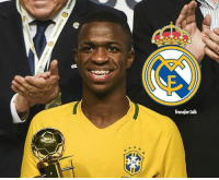 RealMadrid are set to trump Barcelona in the race to sign highly-rated Brazilian teenager Vinicius Junior, reports Globoesporte.com. • Real Madrid have reportedly bid €45m, €20m more than Barcelona. transfer transfernews transfertalk transferrumour: CBF.  Transfer talk RealMadrid are set to trump Barcelona in the race to sign highly-rated Brazilian teenager Vinicius Junior, reports Globoesporte.com. • Real Madrid have reportedly bid €45m, €20m more than Barcelona. transfer transfernews transfertalk transferrumour