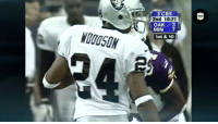 Memes, Nfl, and Cbs: CBS  2nd 10.21  OAK 3  MIN7  1st & 10 .@RandyMoss 🆚 @CharlesWoodson  This really is as good as it gets!  More from the NFL archives at @NFLThrowback! https://t.co/gd9ZGc1ncm