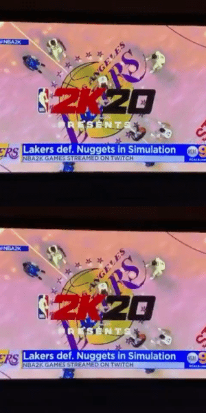 CBS LA covered a simulated Lakers-Nuggets game 🤣 https://t.co/rxckQrTWxc: CBS LA covered a simulated Lakers-Nuggets game 🤣 https://t.co/rxckQrTWxc