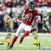 Memes, Cbs, and 🤖: CBS SPORTS  O This untouched pic of Julio Jones from the NFC Championship is amazing.