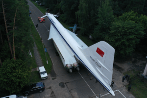 Russia, Another, and Aot: CCCP-77114  RA3PO@AOT Another day in Russia... Transporting a plane.