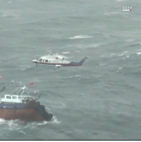 """Memes, 🤖, and Taiwan: CCTV """" China's maritime rescuers saved 11 fishermen from a capsized boat in the rough waters of Taiwan Strait on Monday. The rescuers pulled all 11 fishermen to safety narrowly before the vessel turned over and sank into the waters."""" 🙏 @CNN WSHH"""