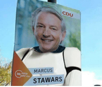 "Meme, Http, and Invest: CDU  MARCUS  geht vor  STAWARS <p>German politician, new potential meme. Invest NOW via /r/MemeEconomy <a href=""http://ift.tt/2oPG5UW"">http://ift.tt/2oPG5UW</a></p>"