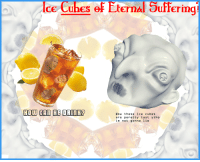 Wow, Suffering, and Ice: ce Cubes of Eterna Suffering  wow these ice cubes  are peretty tast ytho  im not gonna lie