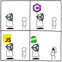 Unity, Programming, and Programmer Humor: Ce  JS  BO