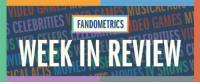 "<p>Time once again for your computer-assisted rundown of the most talked about topics in entertainment and media. This is Fandometrics, Week in Review.<b><br/></b></p><h2><a href=""http://thefandometrics.tumblr.com/post/124610516555/tv-shows-week-ending-2015-steven-universe"">Television</a></h2><p><b>Jumps:</b></p><ul><li><i>Pretty Little Liars</i> jumped seven spots, the fandom having a <i>very</i> serious discussion over the latest, startling plot twist. <br/></li><li>Also up seven, <i>Once Upon a Time</i>. Will Merida from <i>Brave</i> move to Storybrooke? The new <a href=""https://youtu.be/eEGbbv0a9bU"">trailer</a> says maybe!<br/></li></ul><p><b>Slumps:</b> <i>Sherlock</i> (-11) </p><figure data-orig-width=""500"" data-orig-height=""250"" data-tumblr-attribution=""dosageofdisney:CHva8Yk6mCWa3mmfz7y_hw:Z3IkWq1pODFbB"" class=""tmblr-full""><img src=""https://78.media.tumblr.com/9f41840192ccb81a1034e0f85ef47916/tumblr_nrd32mDsqF1shhth1o1_500.gif"" alt=""image"" data-orig-width=""500"" data-orig-height=""250""/></figure><h2><a href=""http://thefandometrics.tumblr.com/post/124609771178/movies-week-ending-july-20th-2015-suicide-squad"">Movies</a><br/></h2><p><b>Jumps: </b></p><ul><li>A new trailer for <i>Suicide Squad</i> and the <i>Ant-Man</i> premiere put them at No. 1 and No. 2 respectively.<br/></li><li>Also getting traction, <i>Batman v Superman: Dawn of Justice</i>—its first appearance on the list since April.<br/></li></ul><p><b>Slumps:</b> <i>The Hunger Games</i> (-6), <i>Ghostbusters</i> (-6), <i>Jurassic Park</i> (-5)</p><h2><a href=""http://thefandometrics.tumblr.com/post/124609037722/musical-acts-week-ending-july-20th-2015-5-seconds"">Music</a></h2><p><b>Jumps: </b></p><ul><li>The music scene was all shook up by Lana Del Rey's Honeymoon and Blue by Marina &amp; the Diamonds. Del Ray: up seven to No. 6, the Diamonds: freshly polished at No. 14.<br/></li></ul><p><b>Slumps: </b>Ariana Grande (-12), Panic! At the Disco (-4), </p><h2><a href=""http://thefandometrics.tumblr.com/post/124608288092/celebrities-week-ending-july-20th-2015-satoru"">Celebs</a></h2><p><b>Jumps: </b></p><ul><li>Satoru Iwata, president of Nintendo passed away—fan art and remembrances sent his name to the top of the celebs list.<br/></li><li>Caitlyn Jenner's rousing speech at the ESPYS got her a standing O and put her back on the list after a four week absence.<br/></li></ul><p><b>Slumps:</b> Chris Pratt (-15), Tom Hiddleston (-4)</p><figure data-orig-width=""500"" data-orig-height=""282"" data-tumblr-attribution=""huffingtonpost:OMziNOUGgwm1jl7Nb48xWw:Zs6mOy1pjNZUw"" class=""tmblr-full""><img src=""https://78.media.tumblr.com/f1c396c609d98a92aed2cb6635981e41/tumblr_nrl3167fe21qb6v6ro1_500.gif"" alt=""image"" data-orig-width=""500"" data-orig-height=""282""/></figure><h2><a href=""http://thefandometrics.tumblr.com/post/124607545062/video-games-week-ending-july-20th-2015-pokemon"">Games</a></h2><p><b>Jumps:</b></p><ul><li><i>Five Nights at Freddy's</i> scored two spots on this week's Games list—the franchise at No. 3 and the brand new game (<i>Five Nights IV</i>) at No. 9. Here's the <a href=""https://www.youtube.com/watch?v=A-taWymx1WI"">trailer</a>.</li><li>Plus <i>EarthBound</i>, a cult favorite and Iwata production, made its debut at No. 15</li></ul><p><b>Slumps: </b><i>Fire Emblem</i> (-6), <i>Team Fortress 2</i> (-4)</p><h2><a href=""http://thefandometrics.tumblr.com/post/124606893754/web-celebs-week-ending-july-20th-2015"">Web celebs</a><br/></h2><p><b>Jumps:</b></p><ul><li><a href=""http://grumpsaesthetics.tumblr.com/post/124511195437/follow-for-more-grump-aesthetic"">Soft Grump Aesthetics</a> is now a thing, so Dan Avidan is too. This is his first appearance on the web celebs list.</li><li>Also, Hannah Hart returns to the list with Grace Helbig (No. 19) after promo press for the <a href=""http://www.ew.com/article/2015/07/15/grace-helbig-hannah-hart-electra-woman-dyna-girl""><i>Electra Woman and Dyna Girl</i></a> reboot.</li></ul><p><b>Slumps: </b>Thomas Sanders, Joe Sugg</p>: CELEBRITIES  FANDOMETRICS  ULSDEO GAMES M  WEEK IN REVIEW  Nl <p>Time once again for your computer-assisted rundown of the most talked about topics in entertainment and media. This is Fandometrics, Week in Review.<b><br/></b></p><h2><a href=""http://thefandometrics.tumblr.com/post/124610516555/tv-shows-week-ending-2015-steven-universe"">Television</a></h2><p><b>Jumps:</b></p><ul><li><i>Pretty Little Liars</i> jumped seven spots, the fandom having a <i>very</i> serious discussion over the latest, startling plot twist. <br/></li><li>Also up seven, <i>Once Upon a Time</i>. Will Merida from <i>Brave</i> move to Storybrooke? The new <a href=""https://youtu.be/eEGbbv0a9bU"">trailer</a> says maybe!<br/></li></ul><p><b>Slumps:</b> <i>Sherlock</i> (-11) </p><figure data-orig-width=""500"" data-orig-height=""250"" data-tumblr-attribution=""dosageofdisney:CHva8Yk6mCWa3mmfz7y_hw:Z3IkWq1pODFbB"" class=""tmblr-full""><img src=""https://78.media.tumblr.com/9f41840192ccb81a1034e0f85ef47916/tumblr_nrd32mDsqF1shhth1o1_500.gif"" alt=""image"" data-orig-width=""500"" data-orig-height=""250""/></figure><h2><a href=""http://thefandometrics.tumblr.com/post/124609771178/movies-week-ending-july-20th-2015-suicide-squad"">Movies</a><br/></h2><p><b>Jumps: </b></p><ul><li>A new trailer for <i>Suicide Squad</i> and the <i>Ant-Man</i> premiere put them at No. 1 and No. 2 respectively.<br/></li><li>Also getting traction, <i>Batman v Superman: Dawn of Justice</i>—its first appearance on the list since April.<br/></li></ul><p><b>Slumps:</b> <i>The Hunger Games</i> (-6), <i>Ghostbusters</i> (-6), <i>Jurassic Park</i> (-5)</p><h2><a href=""http://thefandometrics.tumblr.com/post/124609037722/musical-acts-week-ending-july-20th-2015-5-seconds"">Music</a></h2><p><b>Jumps: </b></p><ul><li>The music scene was all shook up by Lana Del Rey's Honeymoon and Blue by Marina &amp; the Diamonds. Del Ray: up seven to No. 6, the Diamonds: freshly polished at No. 14.<br/></li></ul><p><b>Slumps: </b>Ariana Grande (-12), Panic! At the Disco (-4), </p><h2><a href=""http://thefandometrics.tumblr.com/post/124608288092/celebrities-week-ending-july-20th-2015-satoru"">Celebs</a></h2><p><b>Jumps: </b></p><ul><li>Satoru Iwata, president of Nintendo passed away—fan art and remembrances sent his name to the top of the celebs list.<br/></li><li>Caitlyn Jenner's rousing speech at the ESPYS got her a standing O and put her back on the list after a four week absence.<br/></li></ul><p><b>Slumps:</b> Chris Pratt (-15), Tom Hiddleston (-4)</p><figure data-orig-width=""500"" data-orig-height=""282"" data-tumblr-attribution=""huffingtonpost:OMziNOUGgwm1jl7Nb48xWw:Zs6mOy1pjNZUw"" class=""tmblr-full""><img src=""https://78.media.tumblr.com/f1c396c609d98a92aed2cb6635981e41/tumblr_nrl3167fe21qb6v6ro1_500.gif"" alt=""image"" data-orig-width=""500"" data-orig-height=""282""/></figure><h2><a href=""http://thefandometrics.tumblr.com/post/124607545062/video-games-week-ending-july-20th-2015-pokemon"">Games</a></h2><p><b>Jumps:</b></p><ul><li><i>Five Nights at Freddy's</i> scored two spots on this week's Games list—the franchise at No. 3 and the brand new game (<i>Five Nights IV</i>) at No. 9. Here's the <a href=""https://www.youtube.com/watch?v=A-taWymx1WI"">trailer</a>.</li><li>Plus <i>EarthBound</i>, a cult favorite and Iwata production, made its debut at No. 15</li></ul><p><b>Slumps: </b><i>Fire Emblem</i> (-6), <i>Team Fortress 2</i> (-4)</p><h2><a href=""http://thefandometrics.tumblr.com/post/124606893754/web-celebs-week-ending-july-20th-2015"">Web celebs</a><br/></h2><p><b>Jumps:</b></p><ul><li><a href=""http://grumpsaesthetics.tumblr.com/post/124511195437/follow-for-more-grump-aesthetic"">Soft Grump Aesthetics</a> is now a thing, so Dan Avidan is too. This is his first appearance on the web celebs list.</li><li>Also, Hannah Hart returns to the list with Grace Helbig (No. 19) after promo press for the <a href=""http://www.ew.com/article/2015/07/15/grace-helbig-hannah-hart-electra-woman-dyna-girl""><i>Electra Woman and Dyna Girl</i></a> reboot.</li></ul><p><b>Slumps: </b>Thomas Sanders, Joe Sugg</p>"