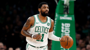 "Kyrie Irving is ""prepared"" to sign with the Brooklyn Nets this offseason, per Boston Herald: CELTICS  BIO  SPALDING Kyrie Irving is ""prepared"" to sign with the Brooklyn Nets this offseason, per Boston Herald"