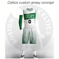 Celtics Custom Jersey Concept Celtics 0 These Are So Dope Follow For More Custom Jersey Concepts And Insane Sports Content They Are Accepting The First 50 Hurry Dope Meme On Me Me