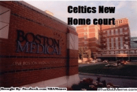 Fac, Meme, and Memes: Celtics New  Home court  Brought By Fac  ebook  com/NBA Memes Tough luck, Celtics Nation! Credit: Ian Davis  http://whatdoumeme.com/meme/83szay