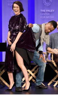 A Response to The Cuba Gooding Jr. and Sarah Paulson Dress Photo: CENTED  FOR  THE PALEY  CENTER  FOR MEDIA A Response to The Cuba Gooding Jr. and Sarah Paulson Dress Photo