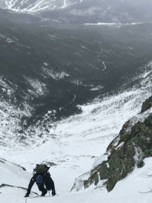 Central Gully, Mount Washington NH: Central Gully, Mount Washington NH