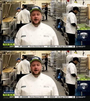 .@CenturyLink_Fld employees have been hard at work providing meals for the Seattle community during the COVID-19 crisis.  They got to announce the @Seahawks selection of @TexasTech LB Jordyn Brooks. #NFLDraft   📺: 2020 #NFLDraft on NFLN/ESPN/ABC 📱: https://t.co/G7fI4KRbG7 https://t.co/r4hXHxK7X4: .@CenturyLink_Fld employees have been hard at work providing meals for the Seattle community during the COVID-19 crisis.  They got to announce the @Seahawks selection of @TexasTech LB Jordyn Brooks. #NFLDraft   📺: 2020 #NFLDraft on NFLN/ESPN/ABC 📱: https://t.co/G7fI4KRbG7 https://t.co/r4hXHxK7X4