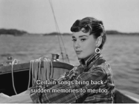 Songs, Back, and Memories: Certain songs bring back  sudden memories to me too.