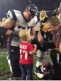 OK, Nate Solder's child is adorable and will hand you confetti. SB51 Patriots: CHAIi  OLUER OK, Nate Solder's child is adorable and will hand you confetti. SB51 Patriots