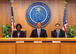 Empire, Michael, and Emperor: Chairman  Ajit Pai  Mignon Clyburn  Michael O Rielly Emperor Paipatine establishing the Galactic Empire (2018)