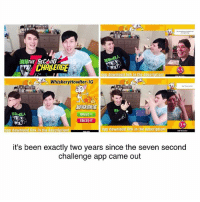 Memes, Wtf, and Link: CHALENGE  dpp downlood link in the description  Whiskery Howlter-IG  JUDGEMEnT  AILED IT  FRILED IT  gpp downloo  in the description  app downlood link in the description  it's been exactly two years since the seven second  challenge app came out it doesn't feel like it was that long ago wtf two years??? yikes we're all dying i still remember vividly when they announced it