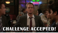When someone says you can't watch a whole season of HIMYM in one night https://t.co/gwM7An8Cak: CHALLENGE ACCEPTED! When someone says you can't watch a whole season of HIMYM in one night https://t.co/gwM7An8Cak