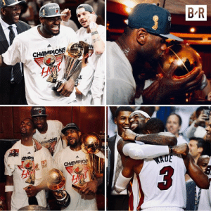 "In his 9th season, LeBron won his first NBA title on this day  ■ 4-1 vs OKC's KD/Russ/Harden trio ■ Finals MVP: 28.6 PTS | 10.2 REB | 7.4 AST ■ Opening words postgame: ""It's about damn time"": CHAME  B R  2 0-1-2 N B  PN  CHAMPIONS  AL  CHAMDIO  iON  MPIONS  MP o12 N  AMPI  20-1-2  CHAMPIO  EHA  WADE In his 9th season, LeBron won his first NBA title on this day  ■ 4-1 vs OKC's KD/Russ/Harden trio ■ Finals MVP: 28.6 PTS 