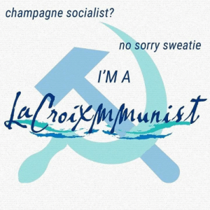 Get off your armchairs   -Molotovmin: champagne socialist?  no sorry sweatie  I'M A Get off your armchairs   -Molotovmin