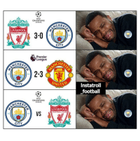 Club, Football, and Memes: CHAMPIONS  LEAGUE  CHESTE  YOULL NEVER WALKALONE  LIVERPOOL  FOOTBALL CLUB  18  94  CITY  ST-1892  Premier  eague  CHEST  CHES  ANCH  阜申  aak  18  94  UNITE  Instatroll  football  CITY  CHAMPIONS  LEAGUE  CHES  YOUULL NEVER WALKALONE  LIVERPOOL  FOOTBALL CLUB  VS  18  94  CITY  EST-189 City fans not ready for their next match 😂😖⚽️ ManchesterCity City United Liverpool Fixtures Fans Sad Troll