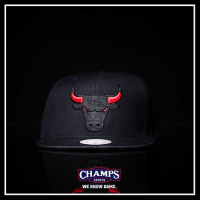 Memes, Sports, and Bulls: CHAMPS  CHAMPS  SPORTS  WE KNOW GAME. You can never go wrong with a Bulls snapback! @mitchellness has you covered! Now at Champs!