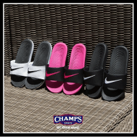 Fresh, Memes, and Nike: CHAMPS  SPORTS Slide season made easy for the kids with the Nike Kawa! Fresh colors available now at Champs!