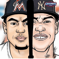 Memes, Sports, and 🤖: CHAMPS  SPORTS Swingers swing. Does the rookie @thejudge44 take the crown from @giancarlo818 ? HRDerby ⚾️ Who wins it tonight? @bbsketch