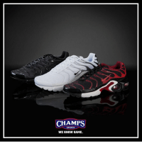 Memes, 🤖, and Air Max: CHAMPS  SPORTS  WE KNOW GAME. A Nike classic for all ages. Pick up the Air Max Plus in grade school now! Tag a friend!