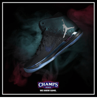 "Air Jordan, Memes, and All Star Game: CHAMPS  SPORTS  WE KNOW GAME. Air Jordan XXXI ""All-Star Game"" drops a week from now in stores and online! Nola"