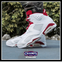 "Are the Jordan 6 ""Alternate"" a MUST cop for you? ⚪️🔴: CHAMPS  SPORTS  WE KNOW GAME. Are the Jordan 6 ""Alternate"" a MUST cop for you? ⚪️🔴"