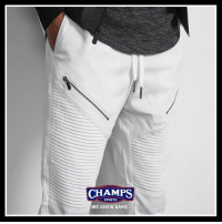 @csg.brand has got you covered with new Moto Joggers - now in stores and online! Now available in multiple colorways.: CHAMPS  SPORTS  WE KNOW GAME @csg.brand has got you covered with new Moto Joggers - now in stores and online! Now available in multiple colorways.