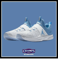Memes, Sports, and Flight: CHAMPS  SPORTS  WE KNOW GAME Flight school's in session. @jumpman23 Flyknit 2 Trainer @uncchapelhill now online and in select stores! Tap to shop. WeKnowGame