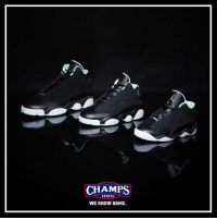 "Fresh, Girls, and Memes: CHAMPS  SPORTS  WE KNOW GAME Fresh Js for girls in all kids sizing! The ""Mint"" Jordan 13 is available now at Champs! Tap to shop!"