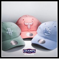 @mitchellness bring the pastels to life in their new collection of dad hats! Pick one up now at Champs!: CHAMPS  SPORTS  WE KNOW GAME @mitchellness bring the pastels to life in their new collection of dad hats! Pick one up now at Champs!