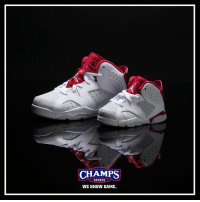 "Show the little sneakerheads some love tomorrow with the ""Alternate"" Jordan 6! WeKnowGame: CHAMPS  SPORTS  WE KNOW GAME. Show the little sneakerheads some love tomorrow with the ""Alternate"" Jordan 6! WeKnowGame"