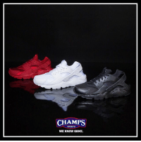 Memes, Nike, and Sports: CHAMPS  SPORTS  WE KNOW GAME The classic Nike Huarache is a must have for your rotation. Pick them up now for kids at Champs! 🔴⚪️⚫️